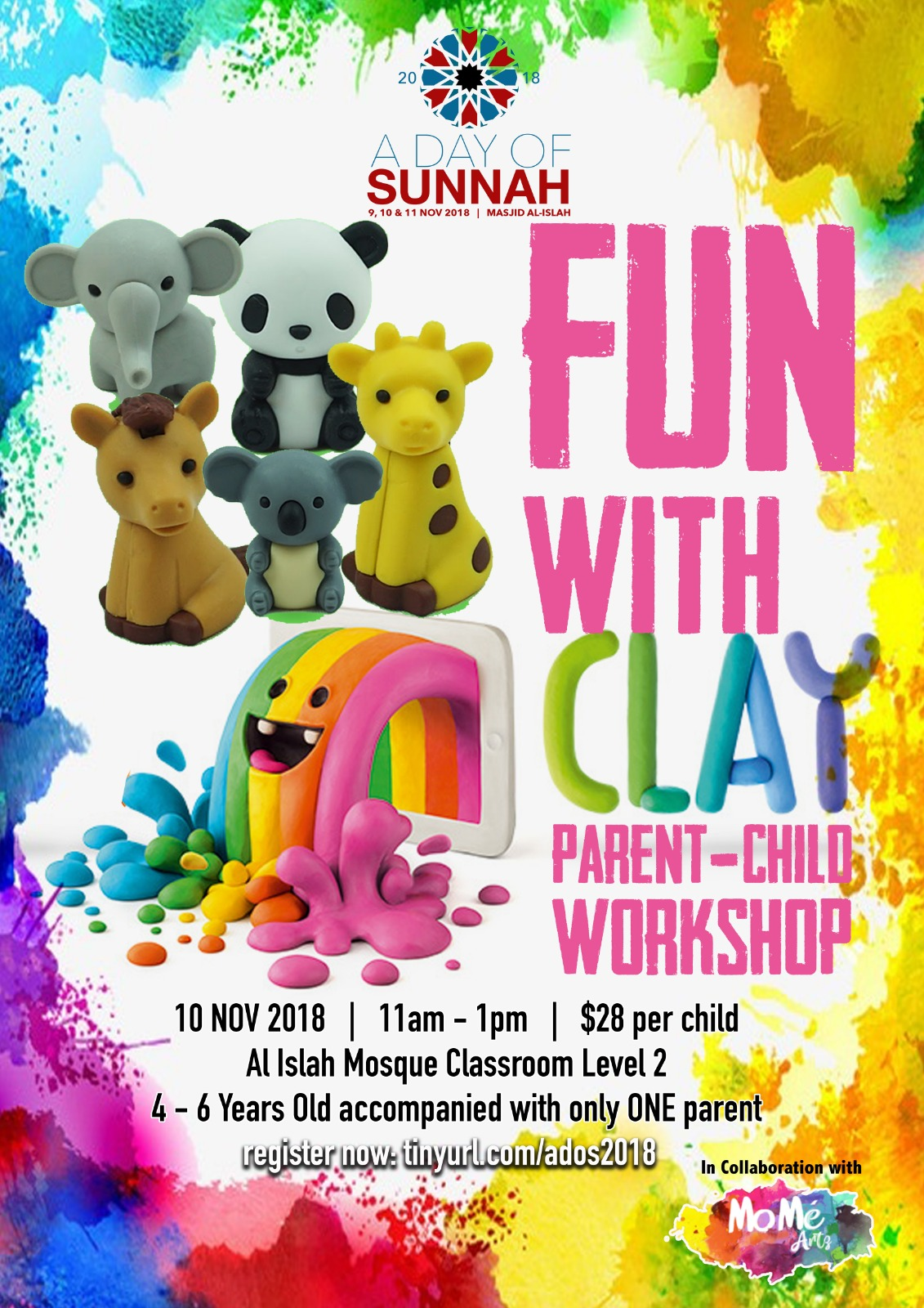 Fun with Clay (REGISTRATION CLOSED)