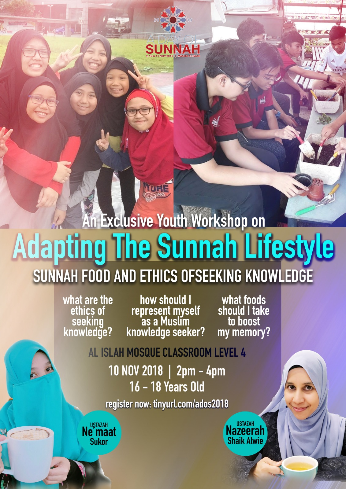 Adapting The Sunnah Lifestyle(REGISTRATION CLOSED)